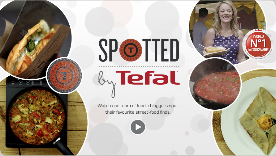 Tefal spotted campaign