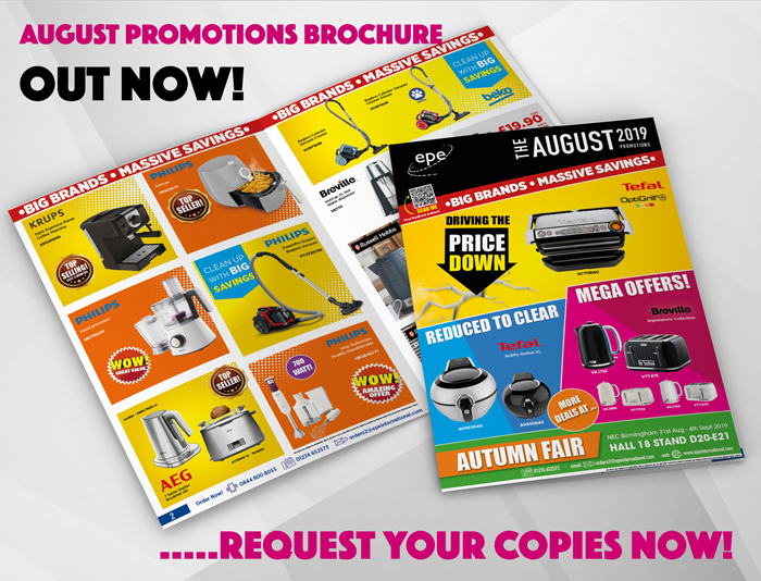 August Promotions brochure out now