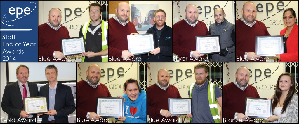EPE 2014 Staff Awards