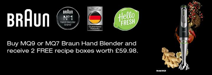 The Braun Hand Blender HelloFresh Promotion