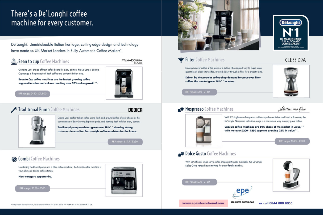 Delonghi EPE Feature