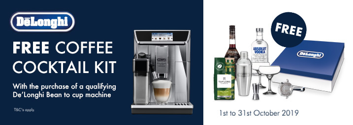 The Delonghi Coffee Cocktail Promotion