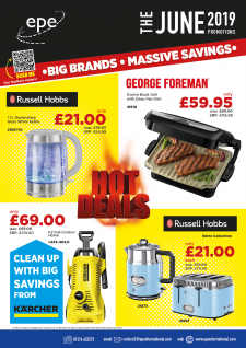 Monthly Promotions – Monthly Promotions Brochure