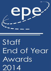 EPE Staff Awards 2014