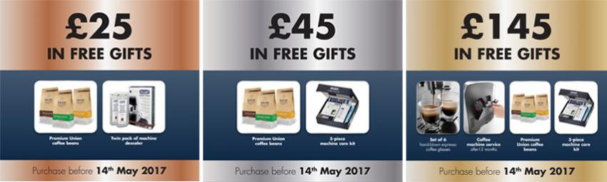 Easter De'Longhi Bean to Cup Added Value Promotion