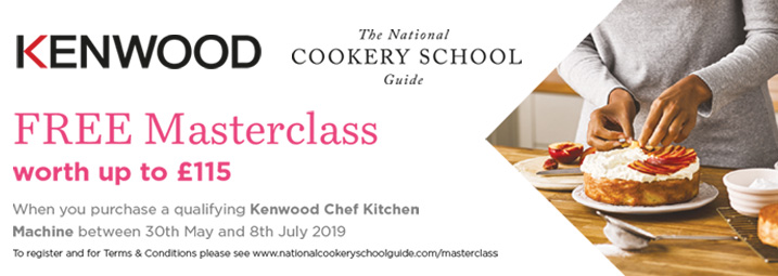 The Kenwood Chef Cookery Course Promotion