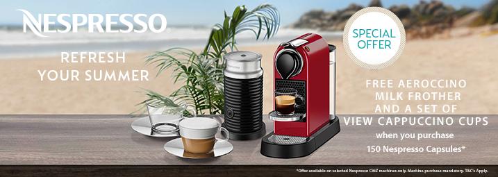 Nespresso Summer Citiz Promotion 2019