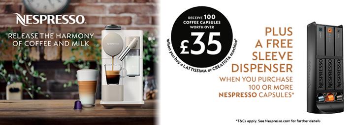 Nespresso Spring Lattissima Promotion