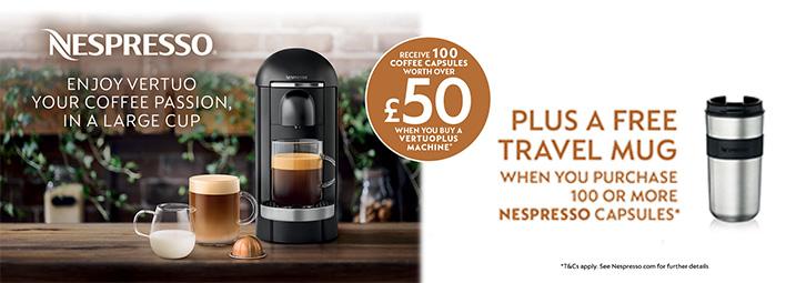 Nespresso Spring Vertuo Promotion