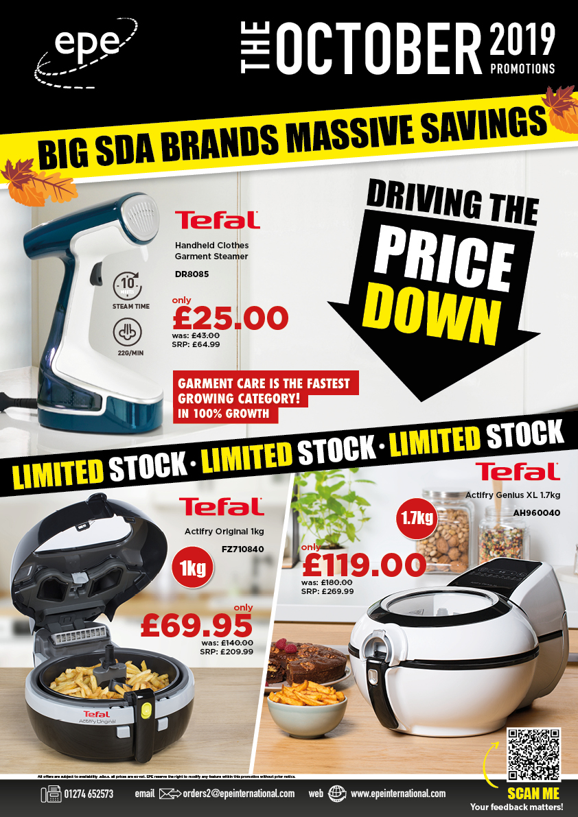 October Monthly Promotions Brochure cover