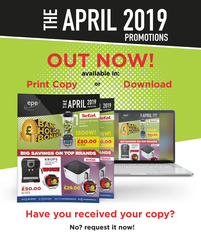 2556f6c424 It s not too late to request your copy of the April Promotions brochure!  MonthlyPromo News Rewards April. Big Brands