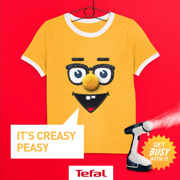 Tefal Get Busy with it AD
