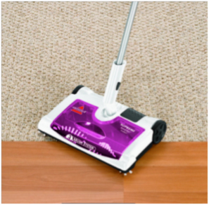 The University cleaning essentials sweeper