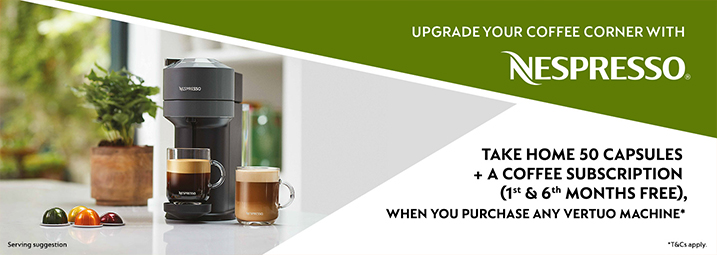 Nespresso Autumn Promotion