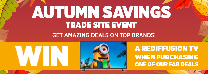 Have you visited our Autumn Savings Trade Site Event?