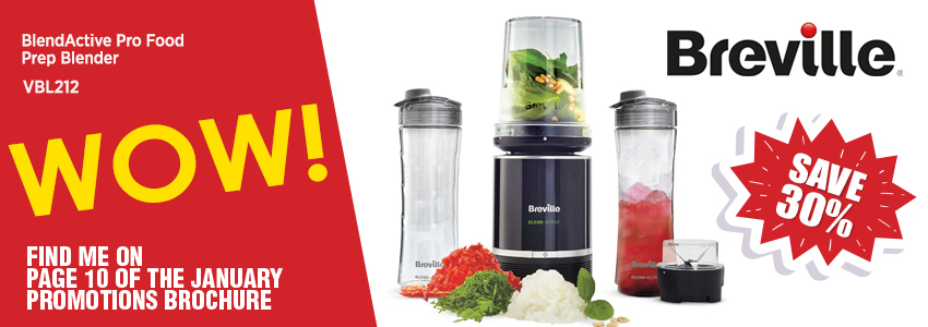 Save 30% on the Breville BlendActive Pro Food Prep Blender