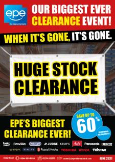 Stock Clearance Brochure