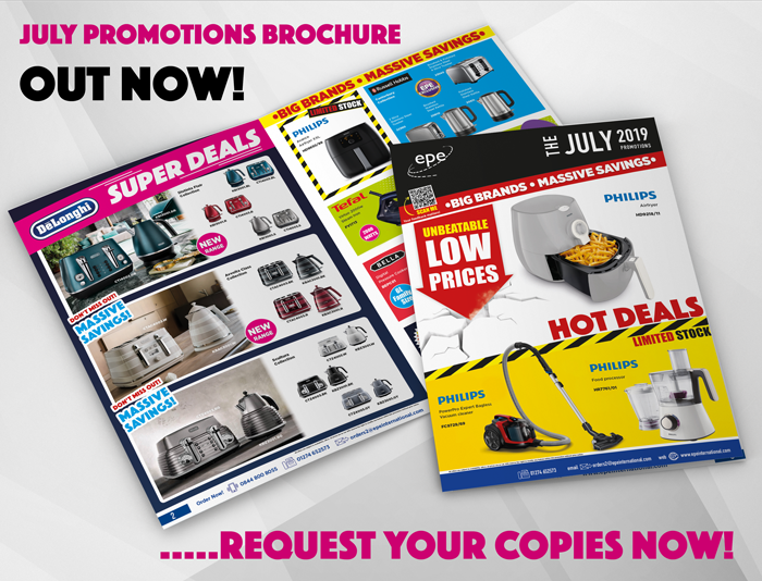 July Promotions brochure out now