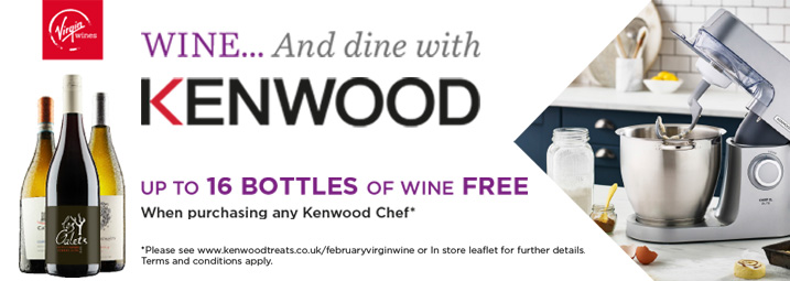 The Kenwood Chef Virgin Wine Promotion