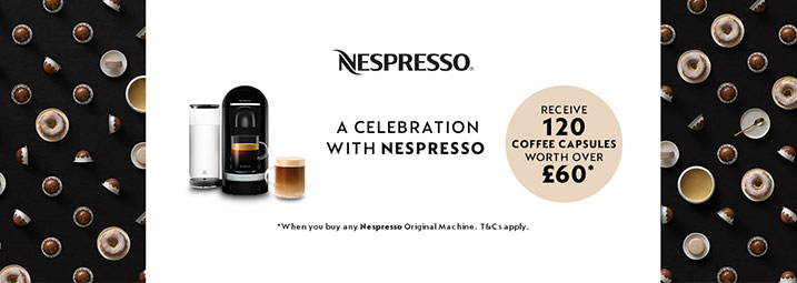 Nespresso Vertuo Special Offer!
