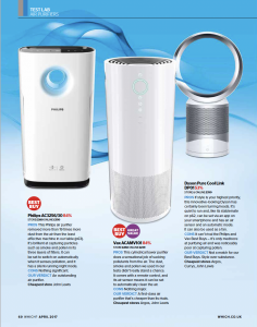 Philips Air Purifier Best Buy - Which - April