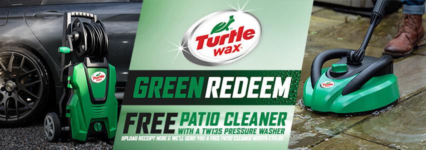 Turtle Wax Green Redemption Offer