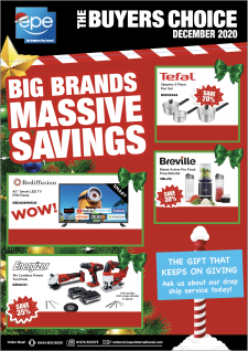 The Promotions Brochure – Bi-monthly